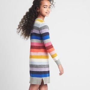 EUC GAP KIDS Crazy Stripe Sweater Dress
